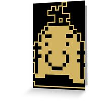 Earthbound Mr Saturn Greeting Card