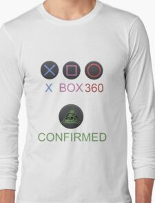Playstation is a lie !!! Long Sleeve T-Shirt
