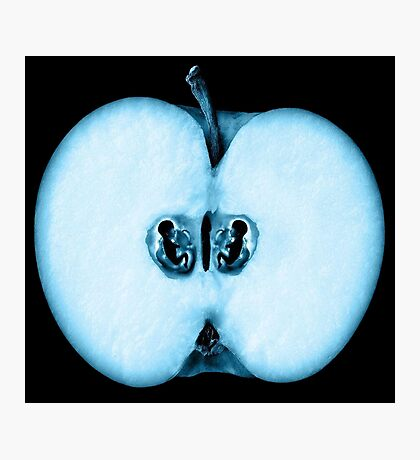 Fringe Apple Twins Photographic Print