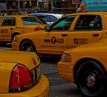 You can never get a cab when you want one... by kerry simmons