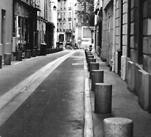 Side Street 6th arr. Paris by Gordon Lukesh