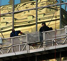 Window Cleaners by Carole Brunet