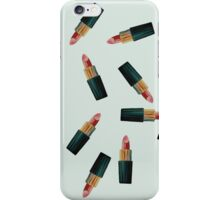 Scattered Lipsticks iPhone Case/Skin