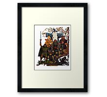 Fellowship of the Ring Framed Print
