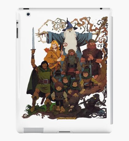 Fellowship of the Ring iPad Case/Skin