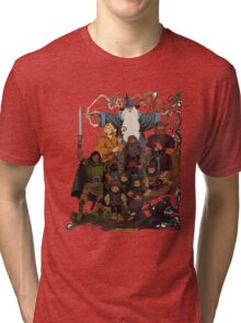 Fellowship of the Ring Tri-blend T-Shirt