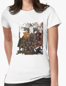 Fellowship of the Ring Womens Fitted T-Shirt