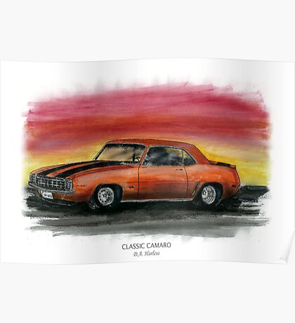 Classic Camaro Poster