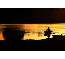 Magic Hour on the Water Photographic Print