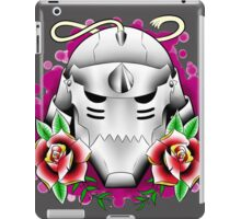 traditional alphonse elric helmet iPad Case/Skin