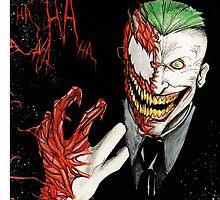 Joker - Carnage by RevxArt