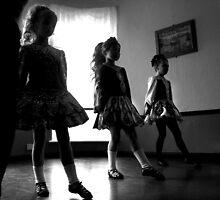 Irish dancers x3 by paul hilton