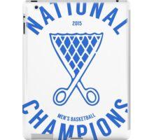 DUKE National Champions 2015 Basketball shirt, hoodie and more iPad Case/Skin