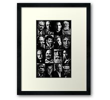 Faces of Logic - 21st Century Framed Print