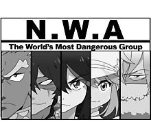 NWA- The world's most dangerous group (Kill la Kill) Photographic Print
