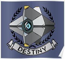 destiny ghost insignia Poster