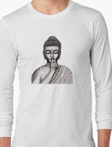 Shh ... do not disturb - Buddha - New Long Sleeve T-Shirt