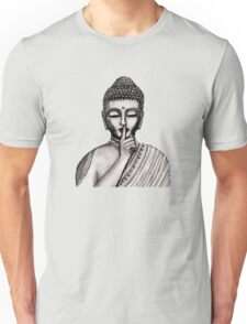 Shh ... do not disturb - Buddha - New Unisex T-Shirt