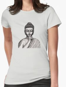 Shh ... do not disturb - Buddha - New Womens Fitted T-Shirt