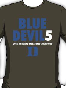 DUKE Blue Devils 5 National Championships 2015 shirt, hoodie and more T-Shirt
