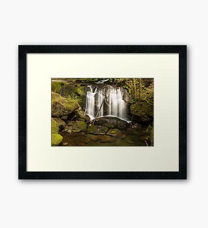 Whatcom Falls Framed Print