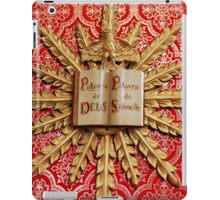 Catholic church decorations iPad Case/Skin