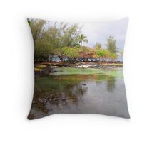 Hilo Lagoon Throw Pillow