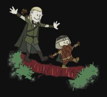 Calvin And Hobbes Lord of The Rings Kids Clothes
