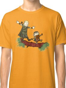 Calvin And Hobbes Lord of The Rings Classic T-Shirt