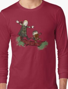 Calvin And Hobbes Lord of The Rings Long Sleeve T-Shirt