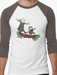Calvin And Hobbes Lord of The Rings Men's Baseball ¾ T-Shirt