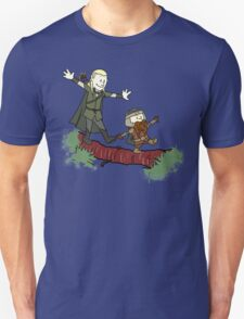 Calvin And Hobbes Lord of The Rings Unisex T-Shirt
