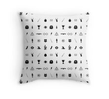 Harry Potter Charms Throw Pillow