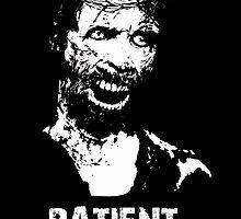 Patient Zero - Zombie Jesus - White by d3mentedhobo