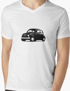 Original Fiat 500: Conservative edition Mens V-Neck T-Shirt