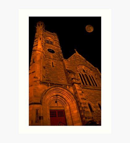 Night Church Art Print