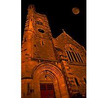 Night Church Photographic Print