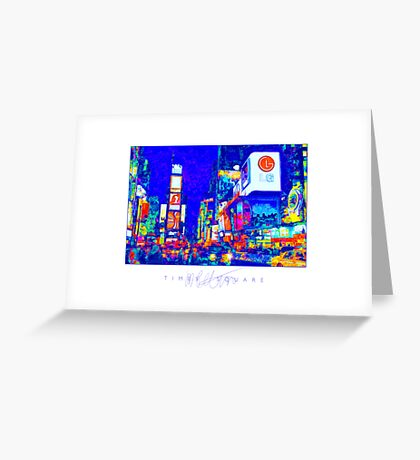 Times Square Greeting Card