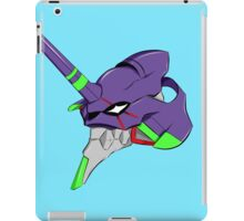 evangelion unit 1 head iPad Case/Skin