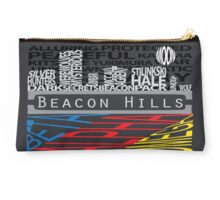 Beacon Hills Typographic Pouch/Laptop Case Studio Pouch