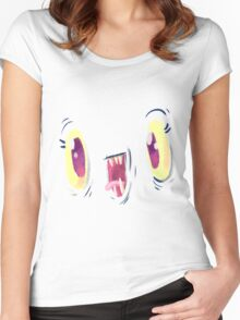 Yo Face Women's Fitted Scoop T-Shirt