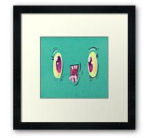 Yo Face Framed Print