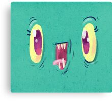 Yo Face Canvas Print