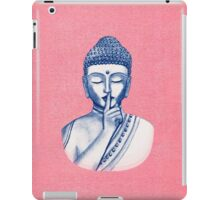 Shh ... do not disturb - Buddha  iPad Case/Skin