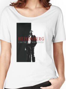 """Heisenber"" Breaking Bad & Scarface Poster Mashup Women's Relaxed Fit T-Shirt"