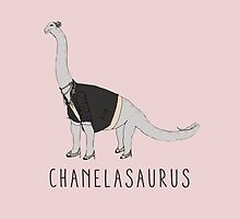 Chanelasaurus by PieandCamille