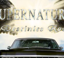 Supernatural destinies road  Sticker
