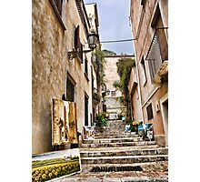 pictures at an exhibition...in  Taormina Photographic Print