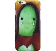 Monster Lisa (#001 of the Monster Imitates Art Collection) iPhone Case/Skin