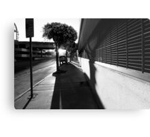 City And Shadow Metal Print